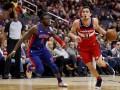 НБА: Вашингтон обыграл Дертойт, Оклахома выиграла у Миннесоты