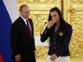 Исинбаева - Путину: Мы должны наказать всех, кто причастен к отстранению России