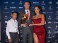 Роналду - о получении награды