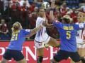 Гандбол: Украинки проиграли норвежкам на чемпионате Европы