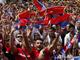 Сербская торсида вдохновляет на бой