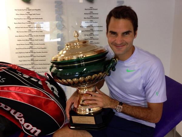 Федерер вновь признан самым лучшим теннисистом по версии болельщиков