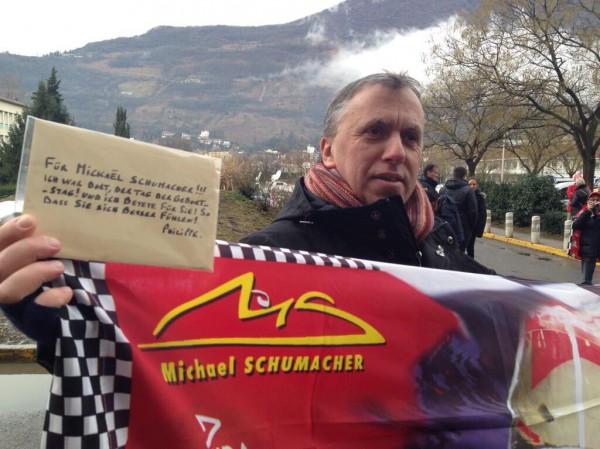 Фанаты Шумахера соберутся поддержать пилота на трассе в Спа