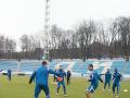 Голландский Аякс задержался в Киеве и попробовал траву стадиона Динамо