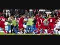 Скажи расизму нет. Массовая драка на матче сборных Англии и Сербии