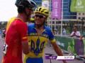 Андрей Гривко завоевал серебро в велосипедной гонке Европейских игр