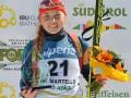 Биатлон: Украинка Белкина выиграла этап Кубка IBU