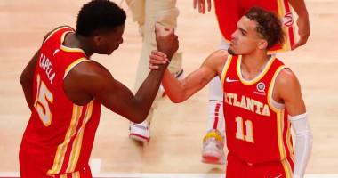 Аллей-уп Янга на Капелу - лучший момент дня в НБА