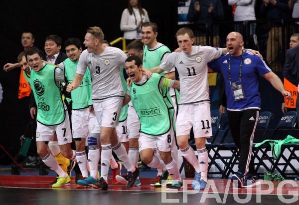 Сборная Казахстана - бронзовый призер Евро-2016 по футзалу