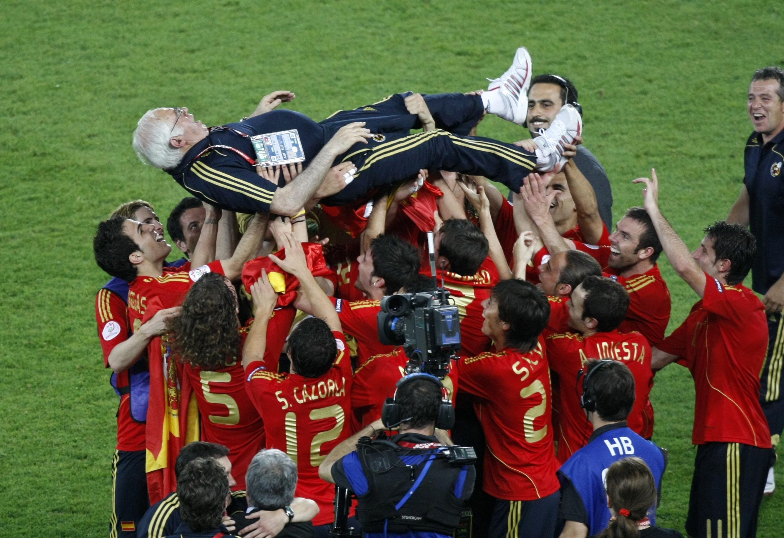 Луис Арагонес выиграл со сборной Испании Евро-2008