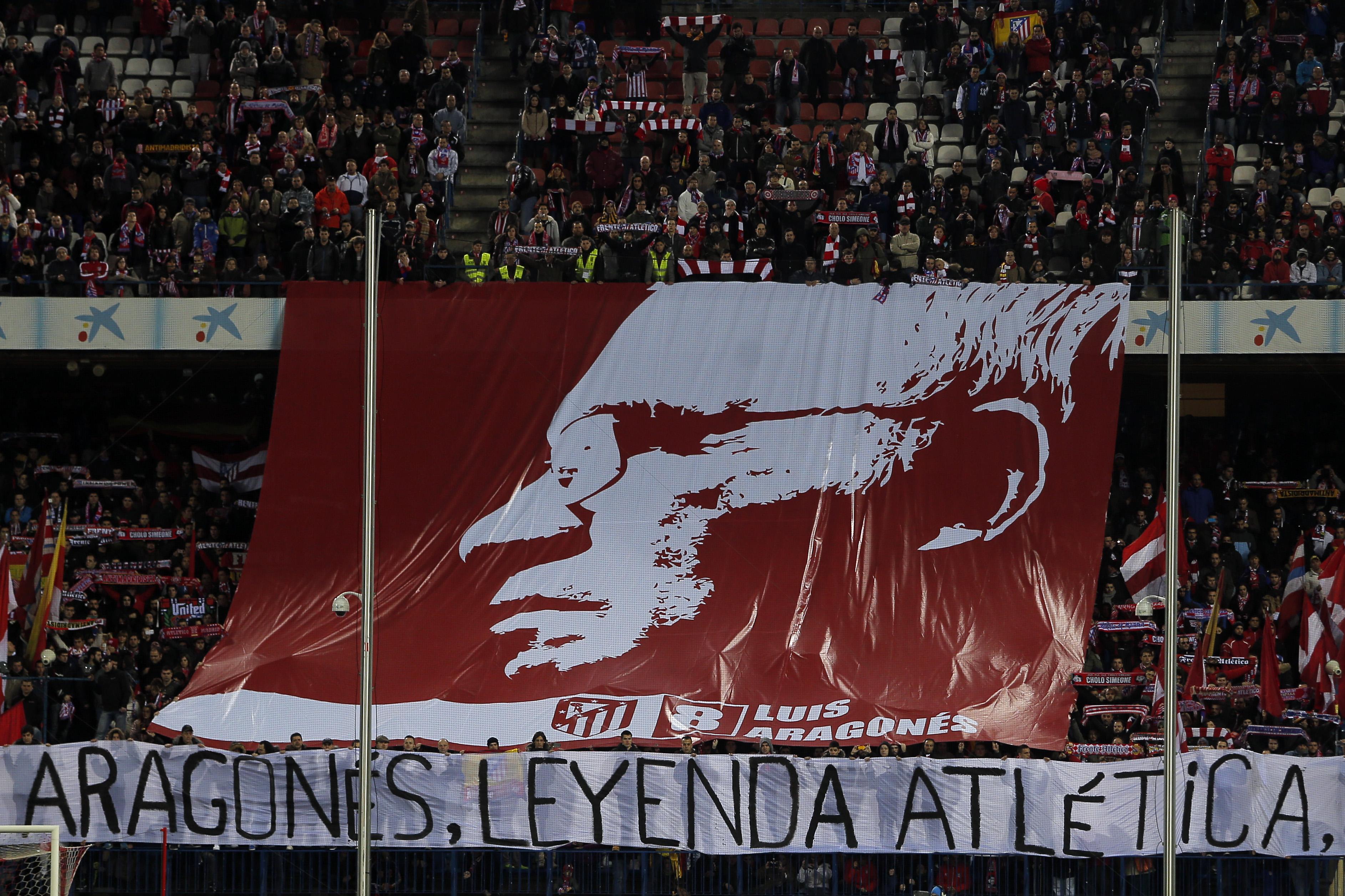 Арагонес - легенда Атлетико