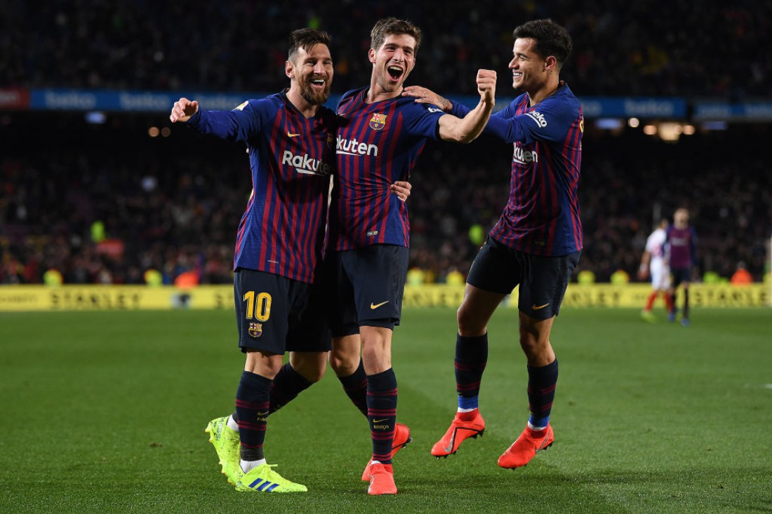 Барселона - в полуфинале Кубка Испании