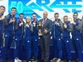 Украинские каратисты завоевали полный комплект медалей на чемпионате Европы