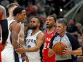 НБА: Хьюстон в овертайме обыграл Голден Стэйт, Торонто разгромно проиграл Сан-Антонио