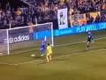 В США футболист умудрился не забить в пустые ворота с нескольких метров