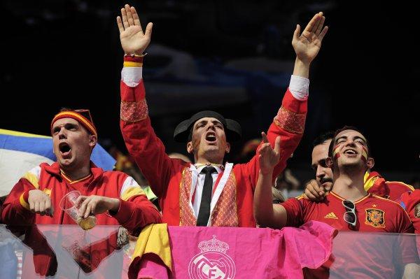 Испанцам впервые за время Евро-2012 придется перебазироваться в Украину