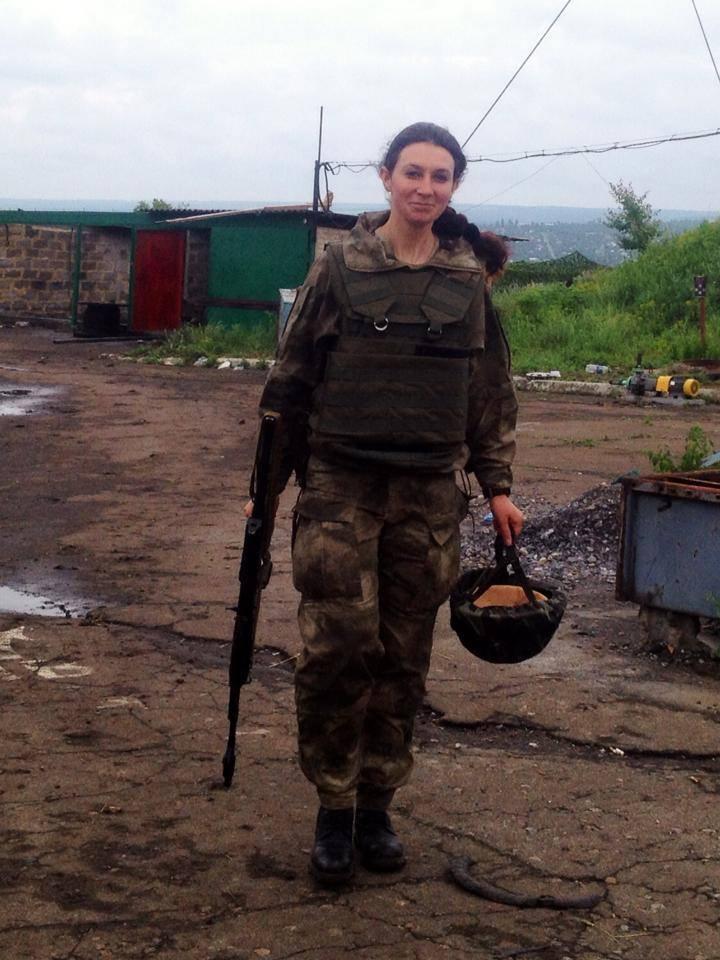На российских форумах утверждают, что эта девушка является Еленой Пидгрушной