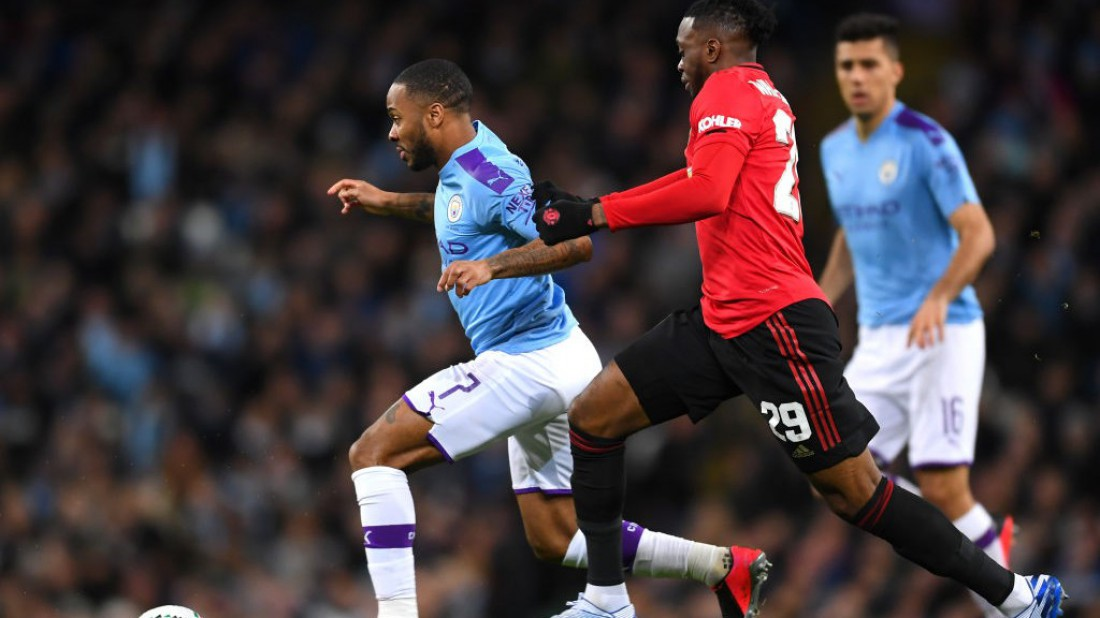 Манчестер Сити - Манчестер Юнайтед: видео гола