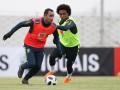 Исмаили сорвал овации на посвящении новичков в сборной Бразилии