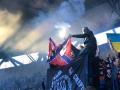 Полиция наказала ультрас Шахтера, который сжег флаг Новороссии на трибуне