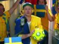 Сине-желтый гимн. Песня фанов сборной Швеции