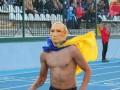 Полуголый фанат в маске Путина порадовал зрителей на футбольном матче (видео)