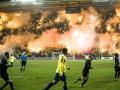 В Дании болельщики шумно отметили 50-летие футбольного клуба
