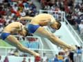 Украинцы Кваша и Пригоров выиграли этап Кубка мира по прыжкам в воду