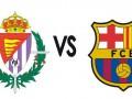 Барселона минимально уступает Вальядолиду