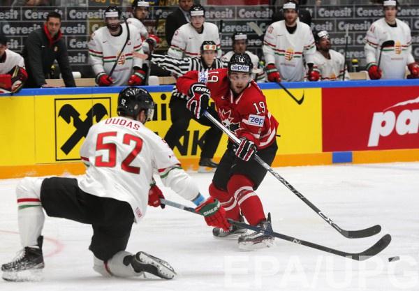 Сборная Канады крупно обыграла венгров