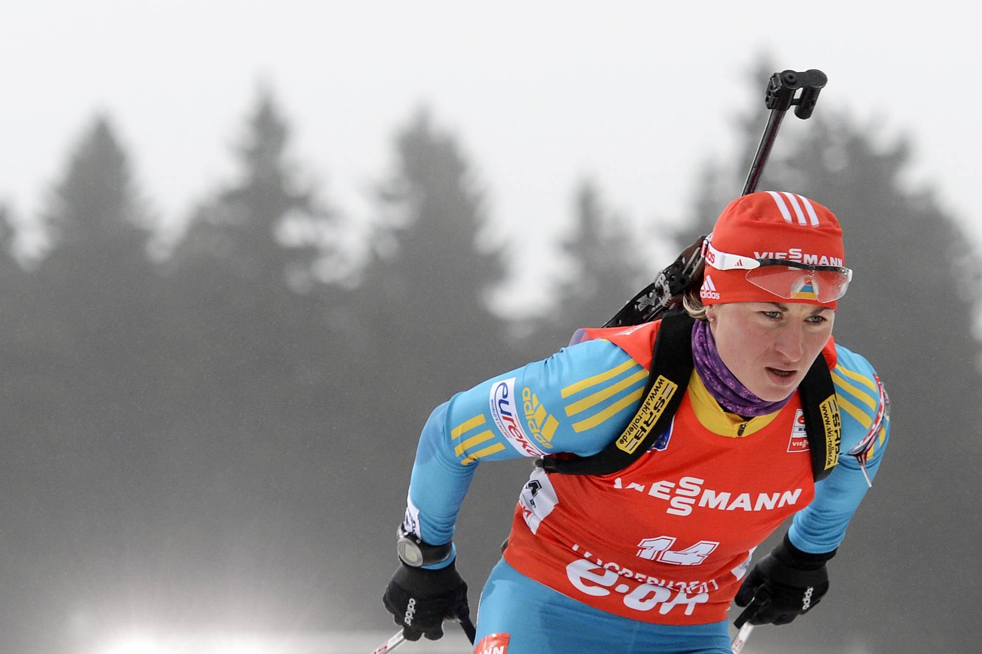 Валя Семеренко завоевала бронзу в спринте
