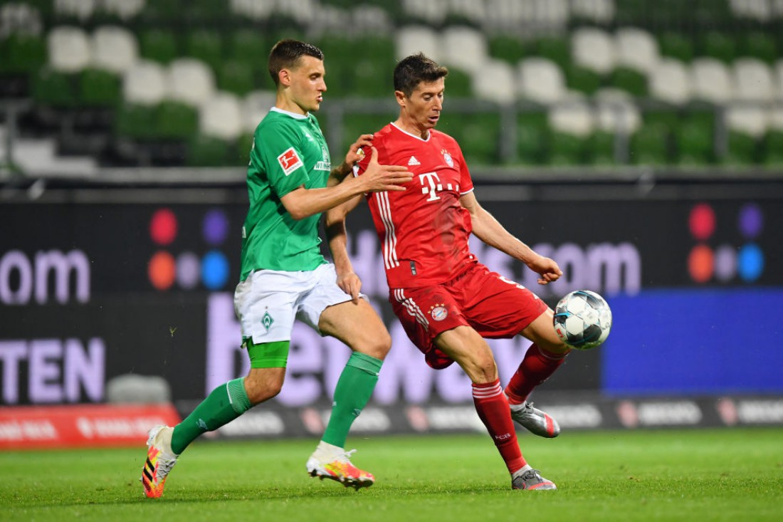 Бавария - Вердер: обзор матча