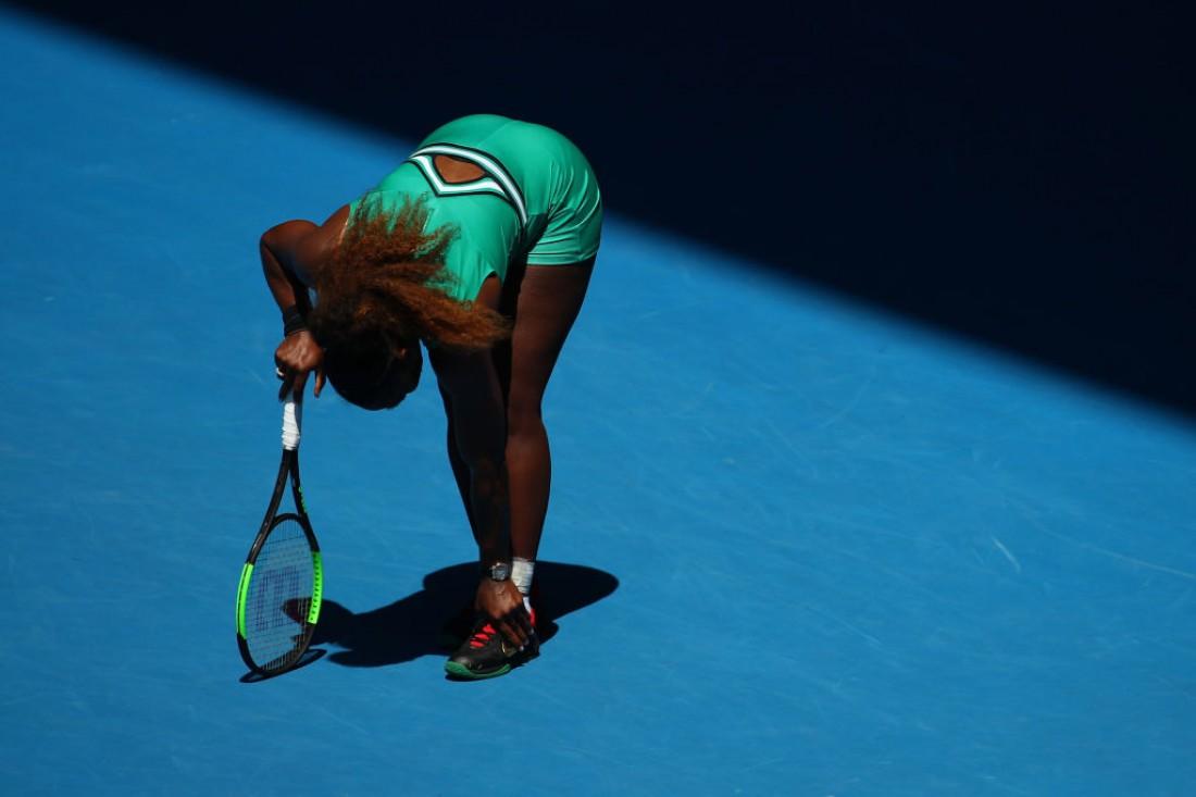 Серена Уильямс получила травму лодыжки