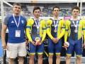 Украинские велосипедисты выиграли Кубок Мира в командном спринте