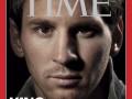 Месси стал первым футболистом в истории, украсившим обложку Time