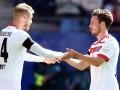 Игрок Гамбурга получил серьезную травму, празднуя гол