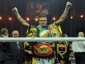 Видео объявления Усика победителем в бою против Гассиева