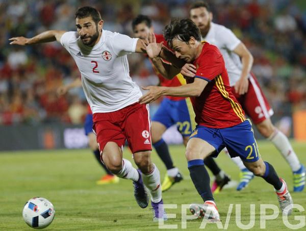 Испания проиграла грузинам