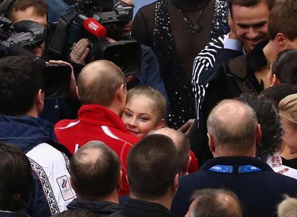 Путин и Юлия Липницкая
