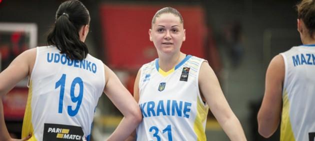 Украинка Ольховик вошла в символическую сборную ЧЕ по баскетболу 3х3