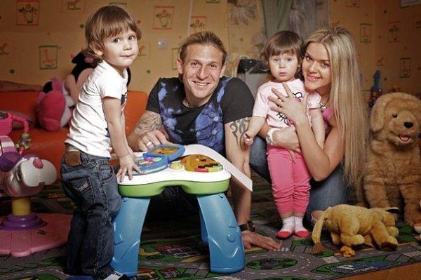 Андрей Воронин и его семья