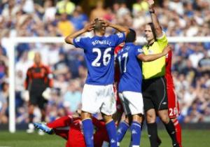 Эвертон могут наказать за поведение болельщиков в матче с Ливерпулем