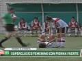 Смотреть больно: В Аргентине женские команды устроили брутальный футбол