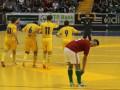 Украина с трудом выходит в финал европейского чемпионата по футзалу