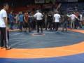 Россияне устроили массовую драку на турнире по вольной борьбе