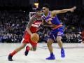 НБА: Лейкерс в овертайме обыграл Оклахому, Нью-Йорк в упорной борьбе уступил Вашингтону