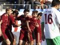 Россия минимально переиграла Болгарию