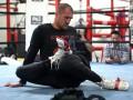 Ковалев показал, как готовится к бою с Шабранским