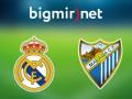 Реал - Малага 2:1 Онлайн трансляция матча чемпионата Испании