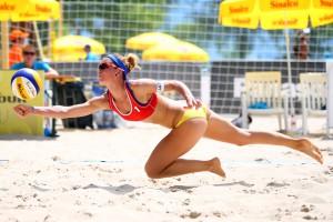 Спортивные кадры недели: Игра в песке и лицо в креме